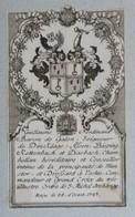 Vignette Héraldique XVIIIème - Guillaume Ferdinand Baron De Galen, Seigneur De Dincklage.... - Ex-libris