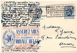 Publibel N° 45 Royale Belge Assurances - Publibels