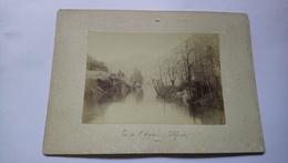 Photo Ancienne Vue De L'aveyron Vers Villefranche De Rouergue 12 Aveyron à Identifier - Lieux