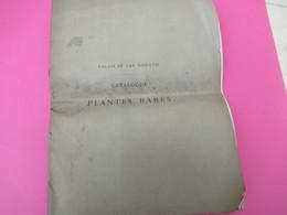Grde Plaquette/Catalogue De Plantes Rares/ Palais De San Donato/ITALIE/Vente Aux Enchères/Florence/LUBBERS/1879   MDP100 - Books, Magazines, Comics