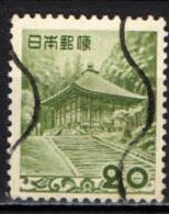 GIAPPONE - 1954 -  TEMPIO DI CHUSONJI - USATO - 1926-89 Imperatore Hirohito (Periodo Showa)