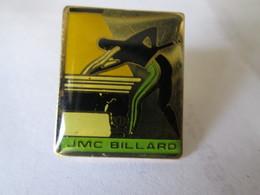PIN'S   JMC  BILLARD - Billiards
