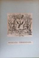 Vignette Héraldique XVIIIème - Maison De Prusse - Auguste FERDINAND - Ex-libris