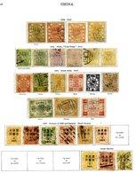 CHINA 1878-1936 Collection Of M & U With 1875-83 Large Dragons 3c (2 Shades) FU & 5c U, 1885 1c & 5c M, 1c, 5c U, 1894 2 - Unclassified