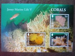 Jersey Marine Life V   Corals  ** MNH - Jersey