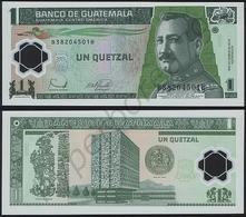 Guatemala P 109 - 1 Quetzale 20.12.2006 - UNC - Guatemala
