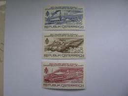 Österreich  1601- 1603  O - 1971-80 Unused Stamps