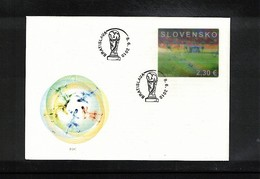 Slovakia 2010 World Cup South Africa FDC - Copa Mundial