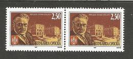 BHRS 1997-55 & 55 I,  MIHAILO PUPIN, BOSNA AND HERZEGOVINA-R.SRPSKA, 2 X 1v, MNH - Schriftsteller