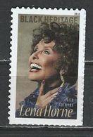 USA. Scott # 5259 MNH. Lena Horne Black Heritage  2018 - Estados Unidos