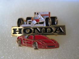 PIN'S   HONDA   FORMULE 1 +  NSX - Honda