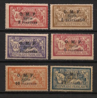 Syrie - 1920-22 - N°Yv. 68 à 73 - Merson - Série Complète - Neuf Luxe ** / MNH / Postfrisch - Syria (1919-1945)