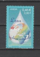 FRANCE / 2001 / Y&T N° 3388 ** : Europa : L'eau - Gomme D'origine Intacte - Neufs