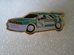 PIN'S   LANCIA  DELTA  HF   INTEGRALE  TEAM  BREGER  GT  SPORT - Rallye