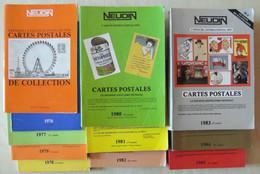 LOT De 11 CATALOGUES NEUDIN De 1975 À 1985 - Livres