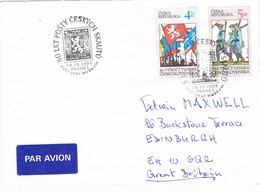 33266. Carta PRAHA (Republica Checa) 1998. 80 Aniversario SCOUT. Museum - Cartas