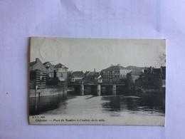 CHATELET 1910  PONT DE LA SAMBRE A L' ENTREE DE LA  VILL   D.V.D. 9520 - Châtelet