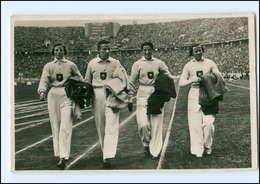 XX002141/ Olympiade 1936 Berlin 4x100-m-Damenstaffel Foto AK - Olympische Spiele
