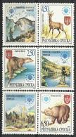 BHRS 1997-66-8 FAUNA, BOSNA AND HERZEGOVINA-R.SRPSKA, 1 X 3v LABEL, MNH - Bosnien-Herzegowina