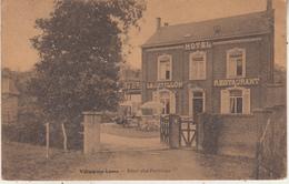 """Villers-sur-Lesse - Hôtel """"Le Pavillon"""" - 1929 - Edit. Desaix - Hotels & Restaurants"""