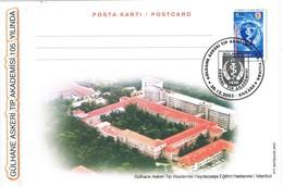 33268. Tarjeta Maxima Entero Postal ANKARA (Turquia) 2003. Academia Medicina. - 1921-... República