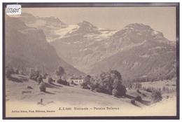 DISTRICT D'AIGLE - LES DIABLERETS - PENSION BELLEVUE - TB - VD Vaud