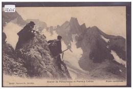 DISTRICT D'AIGLE - GLACIER DE PANEYROSSAZ - ALPINISME - TB - VD Vaud