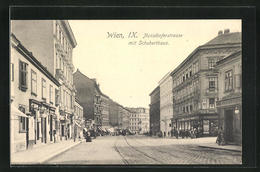 AK Wien, Nussdorferstrasse Mit Schuberthaus - Vienna