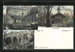 AK Wien, Haus In Der Alleegasse 21 Mit Gartenhaus, Ruine - Unclassified