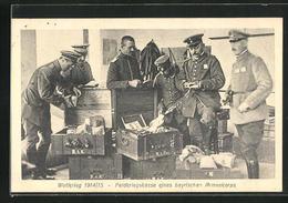 AK Feldkriegskasse Eines Bayrischen Armeekorps - Oorlog 1914-18