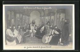 CPA La Passion à St. Louis De Grenoble, IV. Judas Devant Le Grand Conseil, Passionsspiele - Grenoble