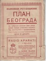 Plan De Belgrade 1928 - Europa