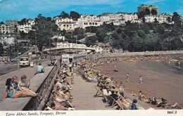 Postcard Torre Abbey Sands Torquay Devon My Ref  B13389 - Torquay