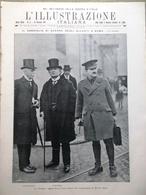 L'Illustrazione Italiana 14 Gennaio 1917 WW1 Draken Alleati Roma Baldissera Rodd - Guerra 1914-18