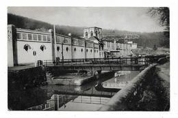 CPA 88 HARSAULT THUNIMONT Etablissements Jules DORGET Pont Tournant Sur Le Canal De L'Est - France