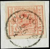 Lomb. Venetien, Selt. Stp. Auf 15 Cent   , #a1827 - Oblitérés