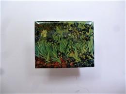 PINS Vincent Van Gogh Les Iris / éditions Atlas  Art Peinture Tableau / 33NAT - Celebrities
