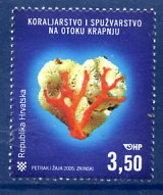 CROATIA 2005 Coral And Sponge Fishery MNH / **.  Michel 731 - Kroatien