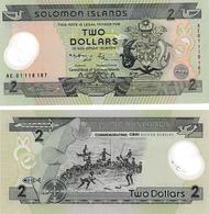 Salomon 2 Dollars - Solomon Islands