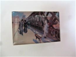 PINS Gustave Caillebotte Le Pont De L'Europe  / éditions Atlas  Art Peinture Tableau / 33NAT - Celebrities