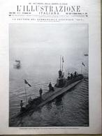 L'Illustrazione Italiana 28 Gennaio 1917 WW1 UC12 Zuara Marsica Filzi UC12 Armi - Guerra 1914-18