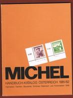 Michel Handbuch Katalog 1981/1982: Freimarken Trachten, Bauwerke Sch. Östrerreich & Portomarken 1949 - 1945-.... 2a Repubblica