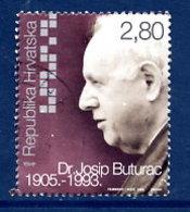 CROATIA 2005 Josip Buturac Centenary Used.  Michel 717 - Kroatië