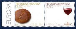 CROATIA 2005 Europa: Gastronomy MNH / **.  Michel 718-19 - Kroatien