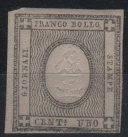 1861 Francobolli Per Stampati Serie Cpl MLH * - Ungebraucht