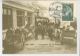 CHAMBORD - Carte Commémorative Du Centième Anniversaire De La FRANCIADE 1883-1983 - Chambord