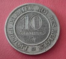 BELGIQUE 10 CENTIMES 1862  LEOPOLD Ier   N° 234D - 1831-1865: Leopold I
