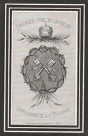 Alphonse Jan Baptiste Joseph Coulon-mouscron 1843-1882 - Devotion Images