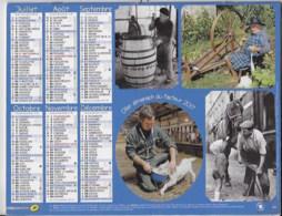 Almanach Du Facteur 2017 RHONE - Calendarios