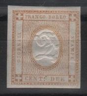 1862 Cifra In Rilievo 2 C. MLH - 1861-78 Victor Emmanuel II.